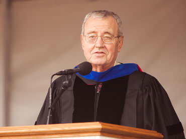Dallas Willard Speaking at Westmont Commencement