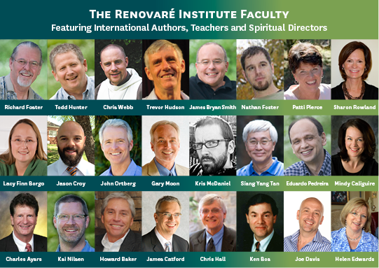 Renovare Institute 2014 Faculty